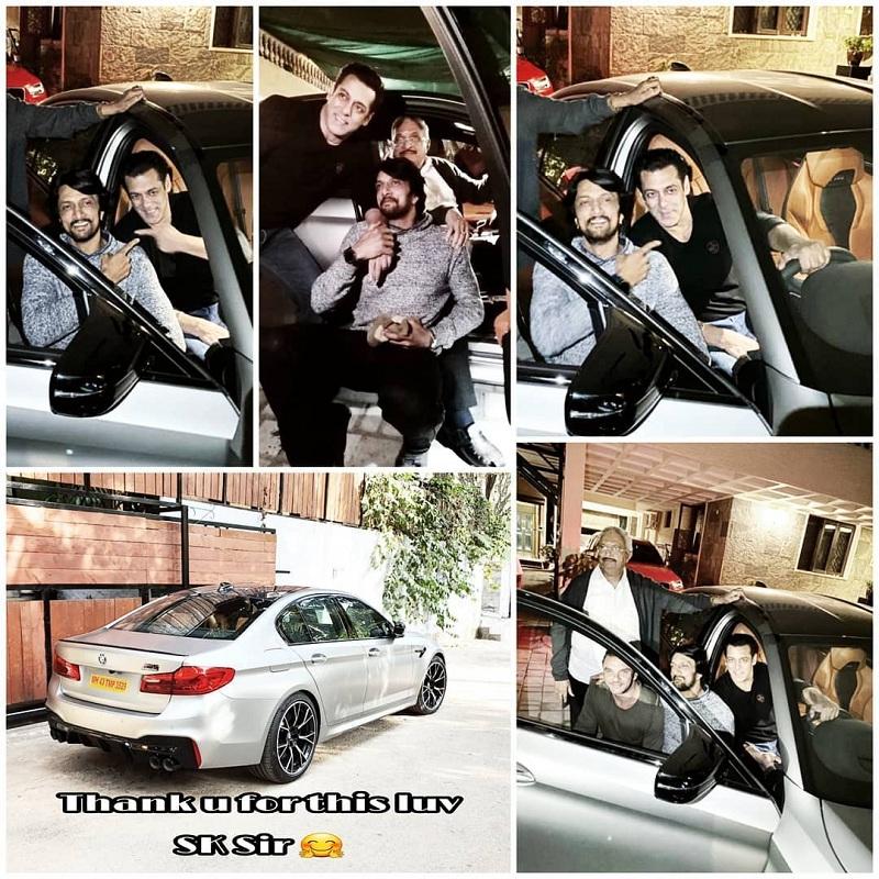 OMG! ਬਾਲੀਵੁੱਡ ਦੇ ਇਸ ਖਲਨਾਇਕ ਨੂੰ ਸਲਮਾਨ ਨੇ ਗਿਫਟ ਕੀਤੀ BMW M5