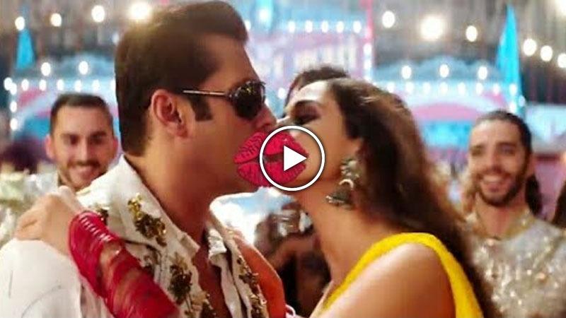 OMG! ਸਲਮਾਨ ਖਾਨ ਨੇ ਪਹਿਲੀ ਵਾਰ ਕੀਤੀ On Screen Lip Kiss, ਵੀਡੀਓ ਹੋ ਰਹੀ ਵਾਇਰਲ