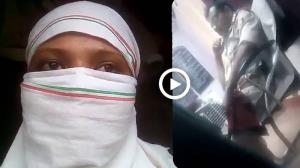 Video : UP ਪੁਲਸ ਸ਼ਰਮਸਾਰ, ਮਹਿਲਾ ਸਾਹਮਣੇ SHO ਨੇ ਪ੍ਰਾਈਵੇਟ ਪਾਰਟ ਨਾਲ ਕੀਤੀ ਛੇੜਛਾੜ